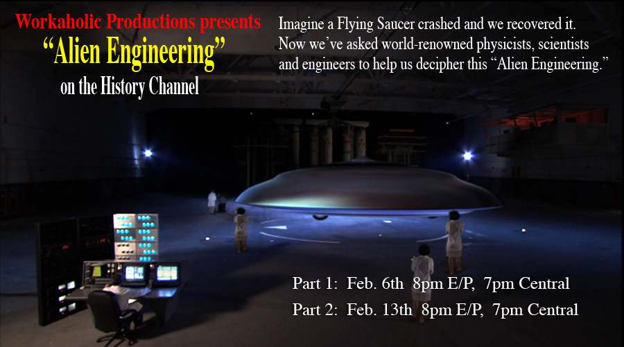 postcard image for the show Alien Engineering